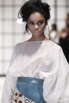 Elie Kuame Couture Of Paris - Runway - Fall 2013 Mercedes-Benz Fashion Week - Pictures - Zimbio