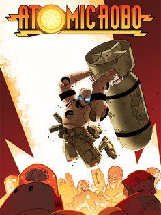 Atomic Robo poster
