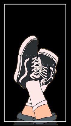 Cool Vans Wallpapers, Iphone Wallpaper Vans, Teen Wallpaper, Iphone Background Wallpaper, Scenery Wallpaper, Galaxy Wallpaper, Cartoon Wallpaper, Tomboy Aesthetic, Aesthetic Pastel Wallpaper