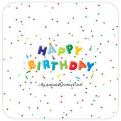 Happy Birthday Animated Cards Free Funny