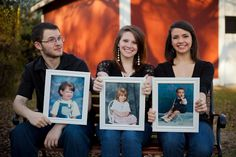 Cute idea for grown siblings. This is way cool must do this with J and S