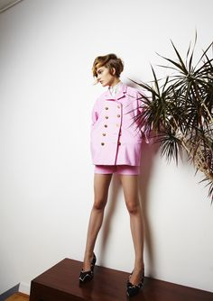 SS 2013 #ss13 #london #fashion #awake #nataliaalaverdian #trends #smart #jacket