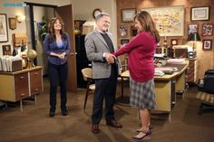 "#Cristela 1x11 ""Dead Arm"" - Daniela, Cristela and Joaquin Alvarez (guest star, Tony Plana)"