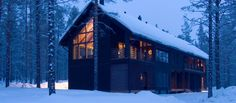 Exclusive Levi Spirit Villa in Lapland, close to the biggest ski resort Levi in Lapland Hotel Chalet, Norway House, Devon Holidays, Jacuzzi Outdoor, Luxury Cabin, Winter Cabin, Holiday Resort, Varanasi, Log Homes