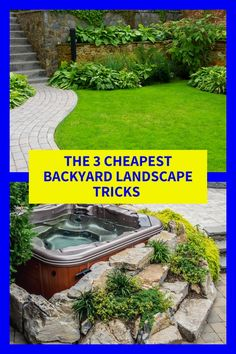 Perfect 4 Cheapest Backyard Landscape Pointers That Are Great
