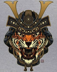 """Ouroboros - """"Wild Samurai II"""": Be a lion, be a hero (by thedisaster)."""