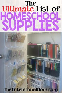 If you are wondering what homeschool supplies you really need, a homeschooling veteran of more than 10 years and seven students spills the beans!