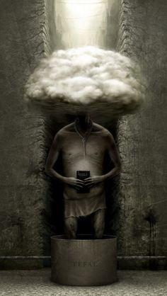 Creepy Illustrations by Anton Semenov