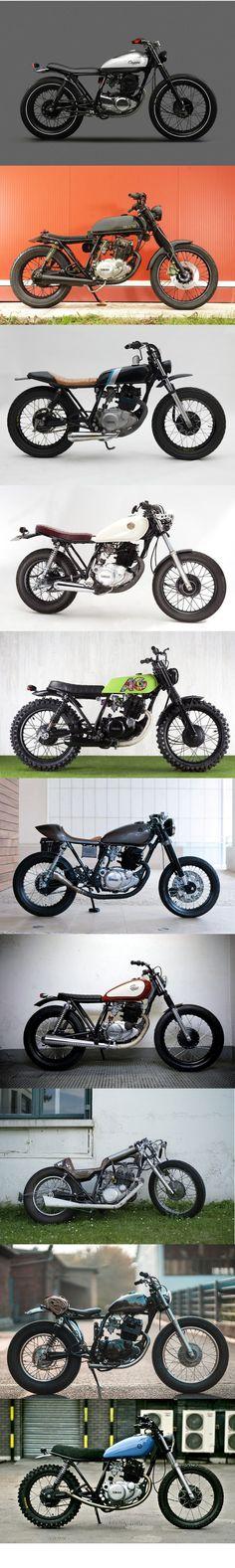 Yamaha SR250 compilation