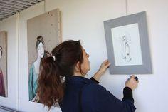 C. Rebeyre, Huisseau s/Mauves Illustration, Selfie, Contemporary, Illustrations, Selfies