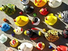 Army of Rubber Duckies