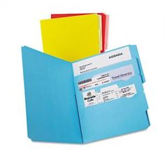 Great Organizing Tool - Pendaflex Divide it Up File Folder, Multi Section, Letter, Assorted, 12/Pack