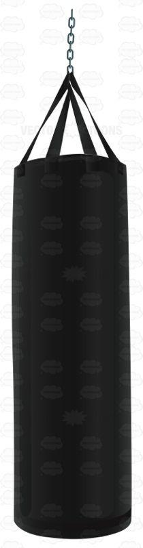 black punching bag | punching bag