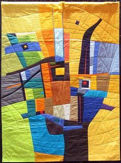 'Mistaken Identity', quilt by Susan Wessels
