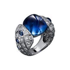 Cartier sapphire ring