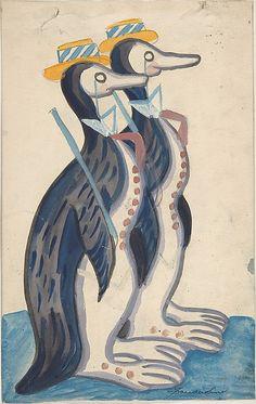Sergey Sudeykin | Two penguins | The Met