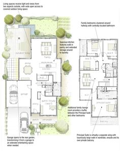 Like this houseplan with the girls sharing a closed in balcony.