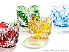 Sake Shot Glasses( Edo Kiriko)