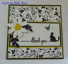 Beautiful clarity stamps card