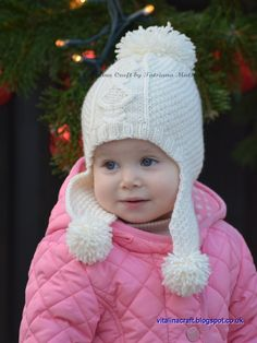 This knitting pattern is for my Frosty Morning Set (Hat+Cowl+Mittens).  This must have 3 in 1 set is perfect to keep your little one warm and cozy. The set consist of hat, cowl and mittens. It is knitted with moss stitch and decorated with beautiful matching cable pattern at the front. This stylish hat is made with earflaps for extra warm and comfort. It is also decorated with pair of pompoms on the ends of earflaps and big one on the top of the hat. The cowl is made in shape of sweater…