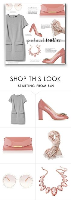 """""""Patent Leather"""" by lovine ❤ liked on Polyvore featuring Banana Republic, L.K.Bennett, Mark & Graham, Chloé, Thalia Sodi and patentleather"""