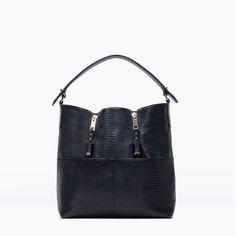 ZARA - WOMAN - BUCKET BAG WITH ZIPS
