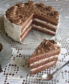 Malinasta čoko fantazija - Kuhinja i Recepti Torte Recepti, Kolaci I Torte, Bosnian Recipes, Croatian Recipes, Bakery Recipes, Dessert Recipes, Desserts, Cake Cookies, Cupcake Cakes