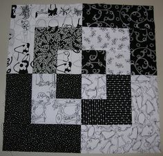 Black and White | Silver Thimble Quilting