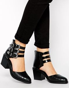 ASOS – RAGAN – Zweiteilige Ankle Boots