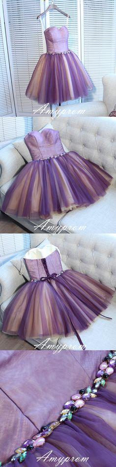 PRETTY HOMECOMING DRESSES,SHORT/MINI PROM DRESS JUNIORS HOMECOMING DRESSES