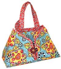 Caddy Pad Pattern - very cute pattern for a tote to carry your iron.  This pattern even comes with the heat resistant fabric to make an ironing pad!