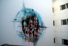 Street Art in Antwerpen, Belgium