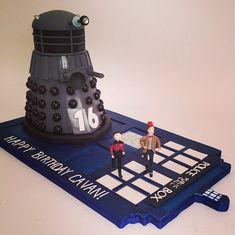 Amazing Dalek Cake made by Charm City Cakes