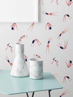 Collaboration PaperMint X My Little Paris - Papier Peint