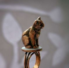 Pet-Perched Accessories - The ABRAKADABRA Cuprum Jewelry Line Features Furry Friends (GALLERY)