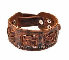 gift jewelry leather bracelet girl bracelet by jewelrybraceletcuff, $9.00