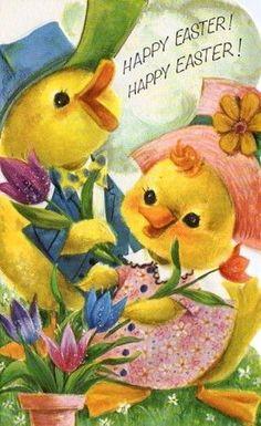 postcard.quenalbertini: Vintage Easter Card | eBay