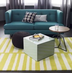 avec peacock apartment sofa  | CB2