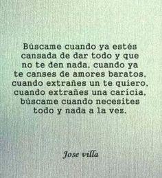 Frases de Jose VIlla