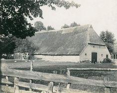langgevel boerderij in Rolde Drenthe uit 1904