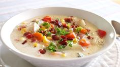Our savory chowder—chock full of chicken, corn, potatoes and green chiles—is simmered to perfection in your slow cooker.