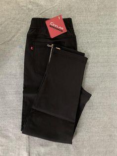Spodnie z bengaliny Cevlar B04 kolor czarny - Big Sister