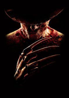 Freddy Krueger from A Nightmare on Elm Street Freddy Krueger, Horror Movie Characters, Horror Movies, Horror Villains, Arte Horror, Horror Art, Horror Quotes, Robert Englund, Creation Art