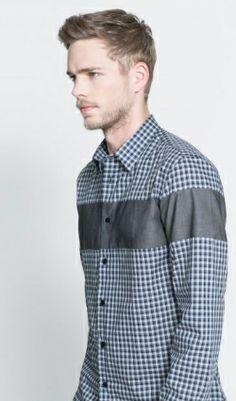 Camisa ZARA de cuadros. 15,99€ (antes 29,95€)