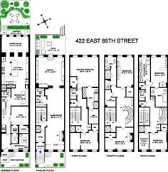 Foxtail small lot house floorplan by http www for Victorian townhouse plans