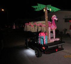 Golf Cart Parade 2015