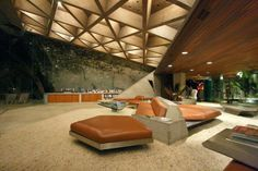 John Laughtner Goldstien House | John Lautner   Sheats Goldstein House |  Modern Architecture