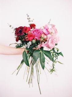 Ombre pink bouquet    Emma & Grace Bridal Studio    Visit us at emmaandgracebridal.com