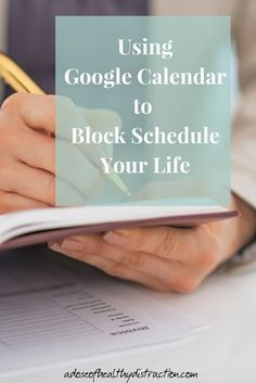 Having trouble with time management? This is a short post explaining how I am using Google calendar to block schedule my life. Includes an instructional video + a free download to practice with.