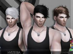 Lana CC Finds - Stealthic - Hysteria (Male Hair)